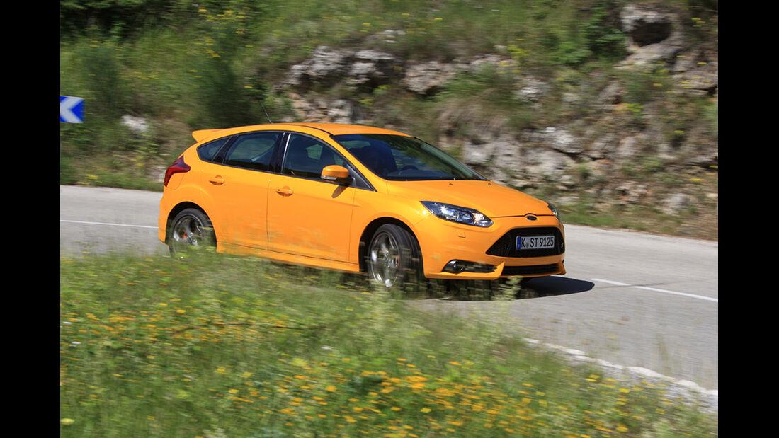 Ford Focus ST, Seitenansicht