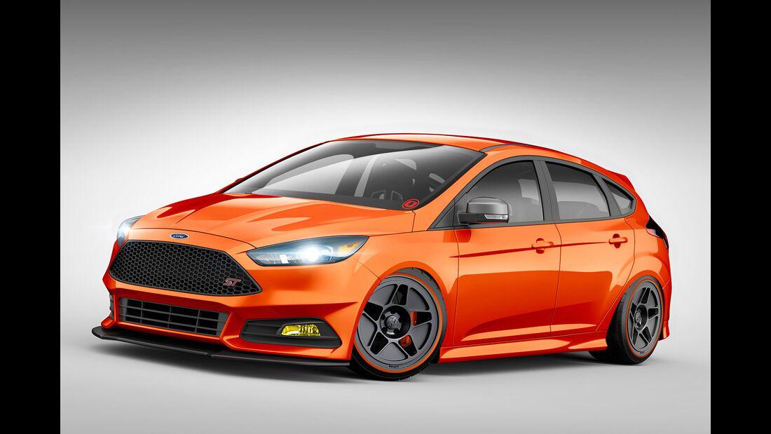 Ford Focus ST Sema 2015