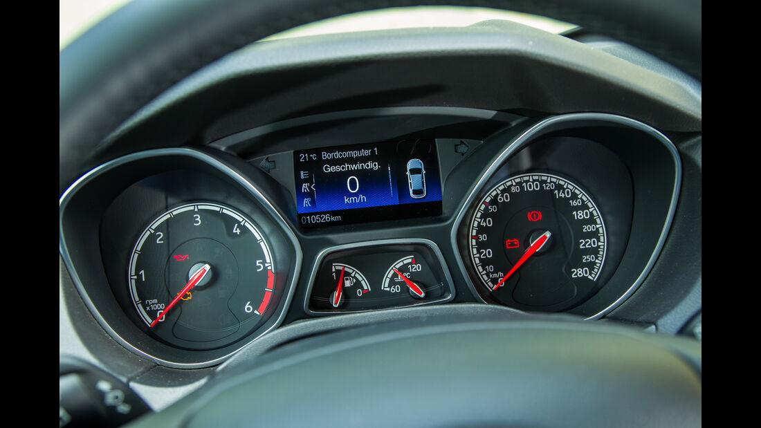 Ford Focus ST Turnier 2.0 TDCi, Rundinstrumente