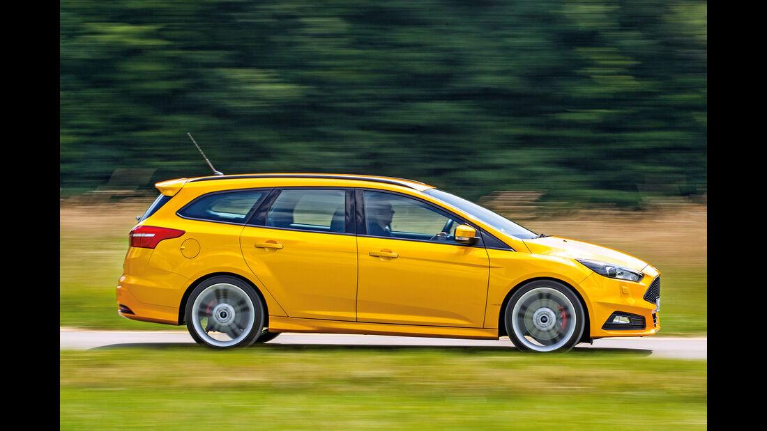 Ford Focus ST Turnier 2.0 TDCi, Seitenansicht