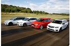 Ford Focus ST Turnier, Seat Leon St Cupra 280, Skoda Octavia RS 230 Combi, VW Golf R Variant