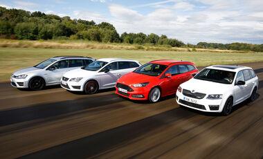 Focus St Vs Gti >> Seat Leon (Typ 5F) Tests - auto motor und sport