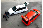 Ford Focus ST Turnier, Skoda Octavia RS Combi, Heckklappen