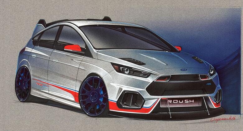 Ford Focus Sema 2016