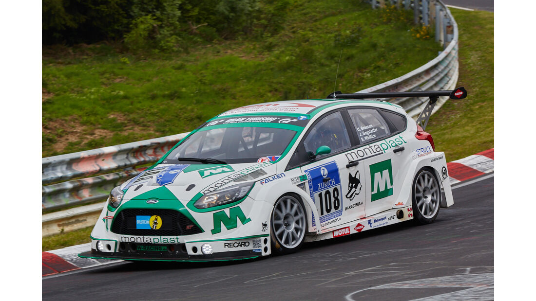 Ford Focus - Startnummer: #108 - Bewerber/Fahrer: Stephan Wölflick, Jürgen Gagstatter, Urs Bressan - Klasse: SP4 T