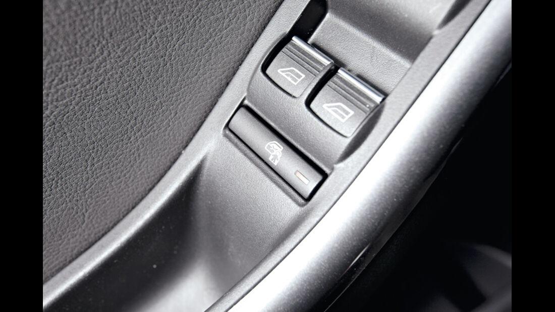 Ford Focus, Tür-Kindersicherung