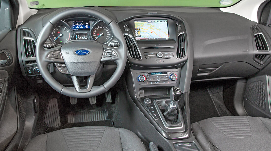 Ford Focus Turnier 1.0 Ecoboost, Cockpit