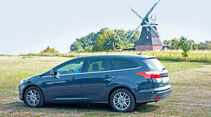 Ford Focus Turnier 1.0 Ecoboost, Ostsee