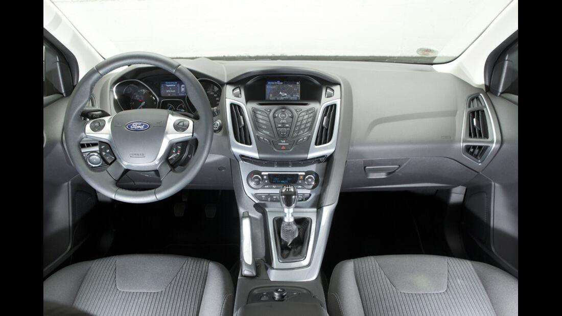 Ford Focus Turnier 1.6 TDCi, Innenraum