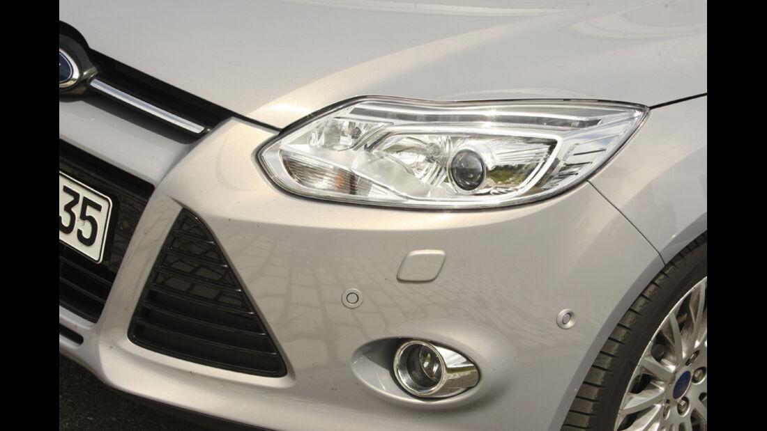 Ford Focus Turnier 1.6 TDCi, Scheinwerfer