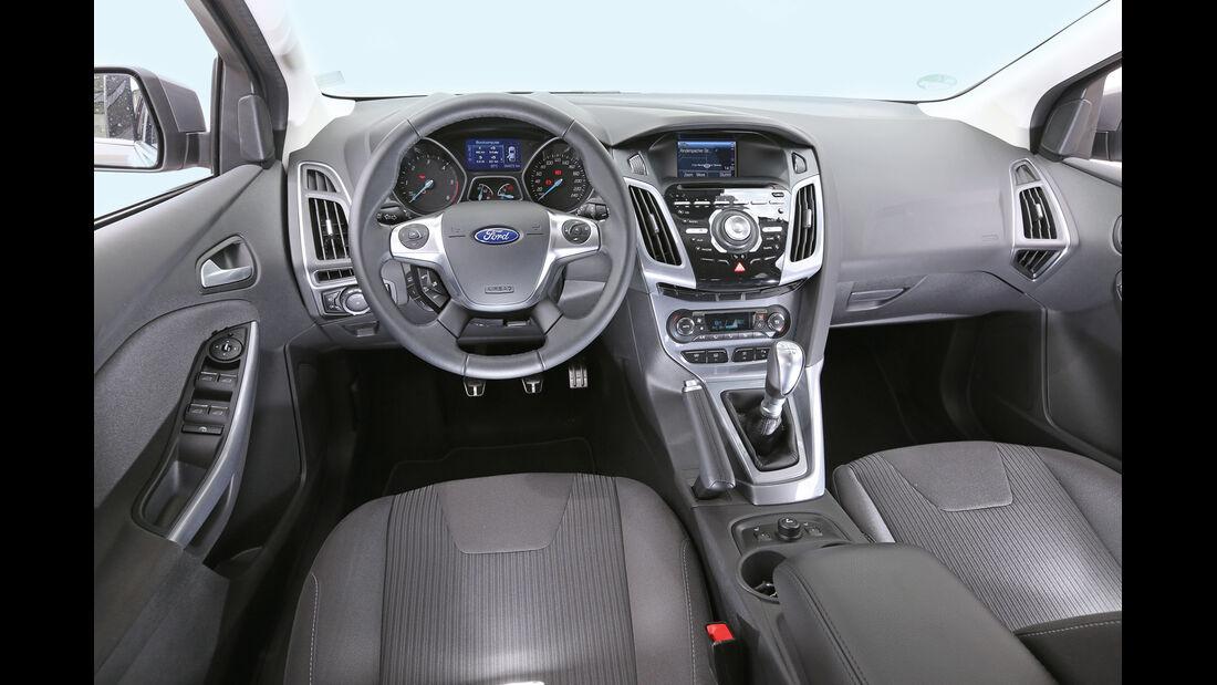 Ford Focus Turnier 2.0 TDCi, Cockpit