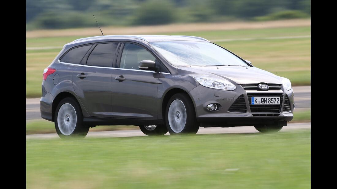 Ford Focus Turnier 2.0 TDCi, Frontansicht