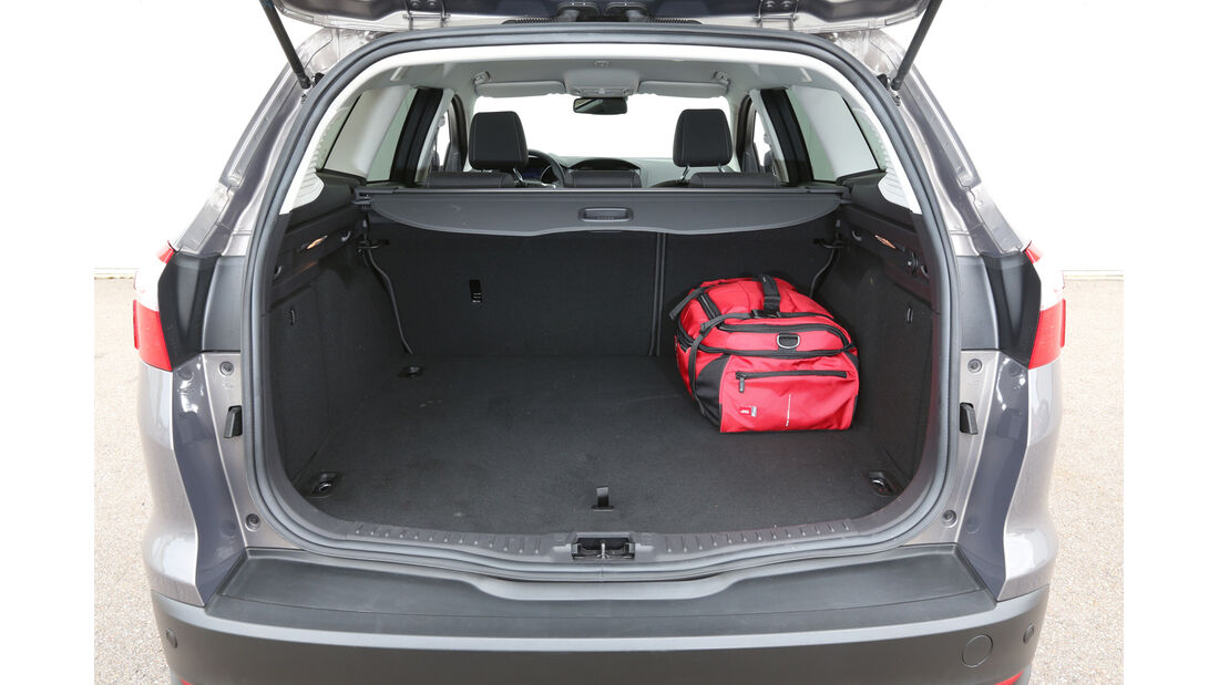 Ford Focus Turnier 2.0 TDCi, Kofferraum, Ladefläche