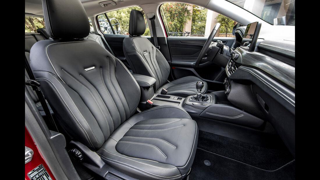 Ford Focus Turnier 2018, Innenraum, Sitze