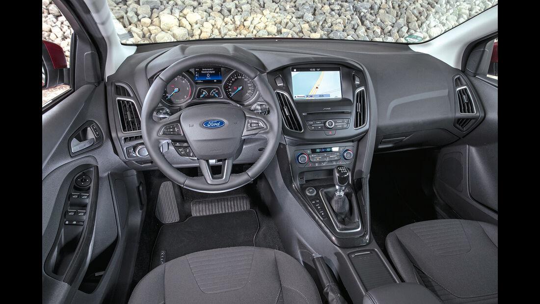 Ford Focus Turnier Interieur