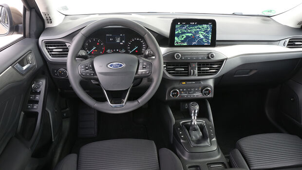 Ford Focus Turnier, Interieur