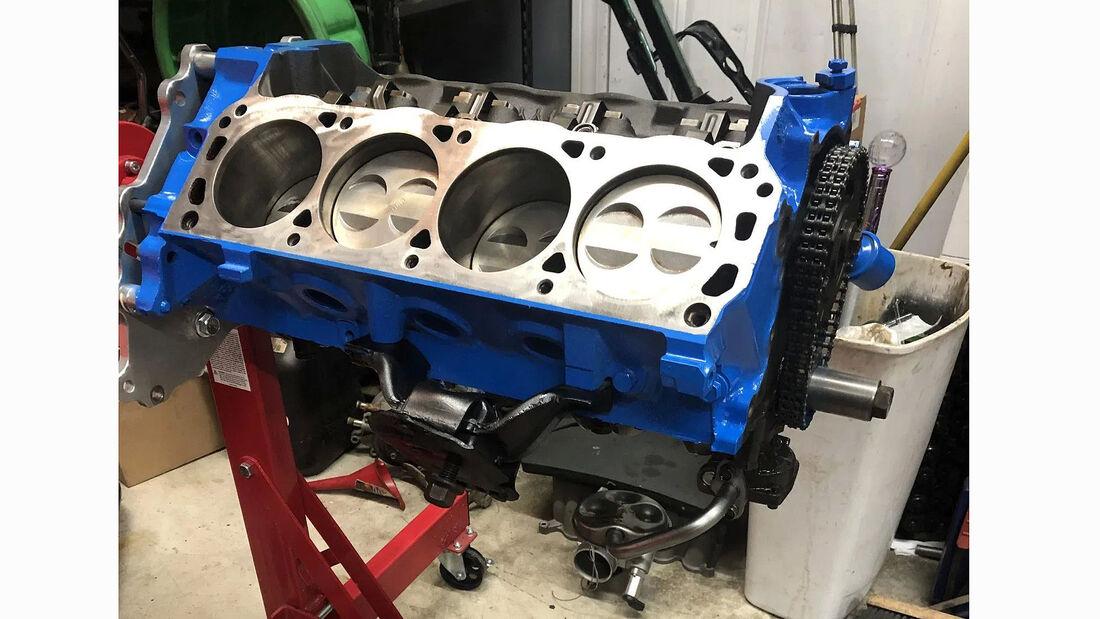 Ford Focus mit V8-Motor und Hinterrad-Antrieb