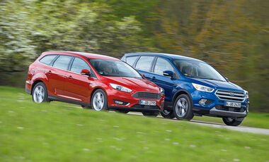 Ford Focus und Ford Kuga