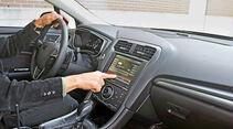 Ford Fusion, Cockpit, Lenkrad