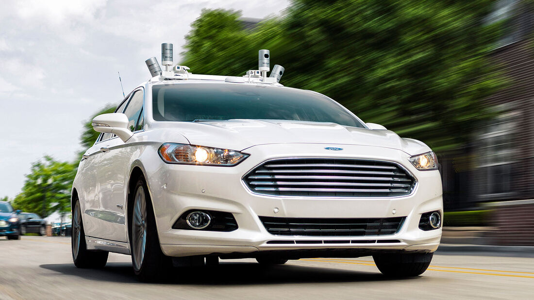 Ford Fusion Hybrid autonomes Fahren