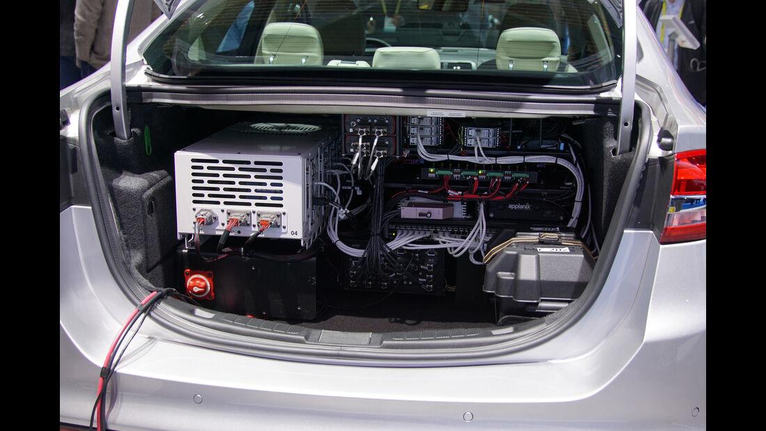 Ford Fusion autonomous drive CES 2017