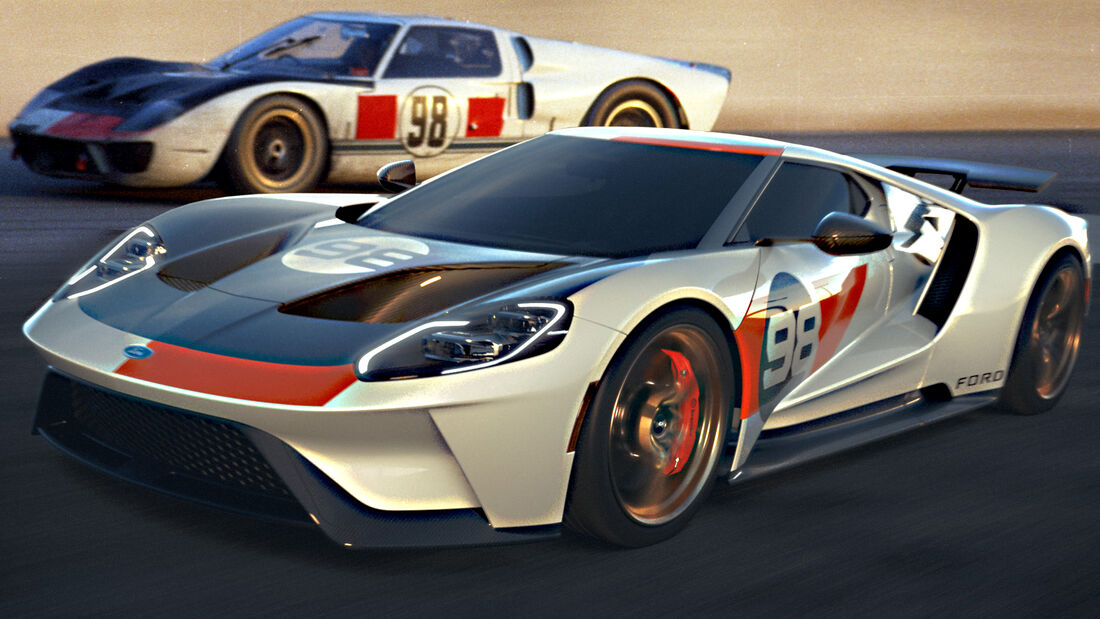 Ford GT 2021 Heritage Edition 1966 Daytona
