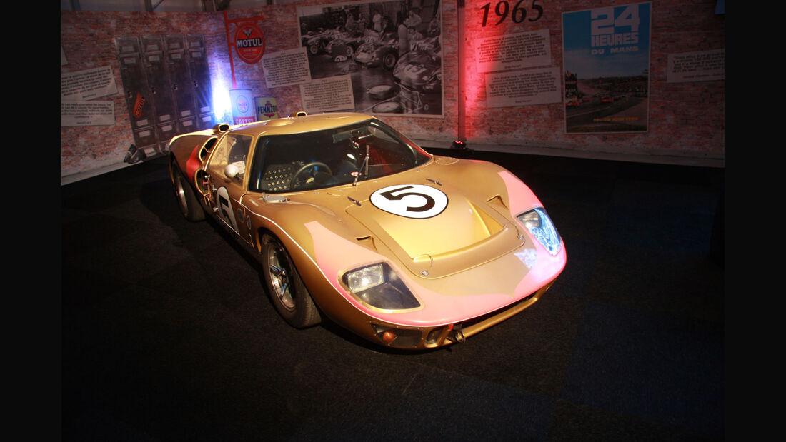 Ford GT 40 MK II #5 1966 - Ausstellung - Le Mans