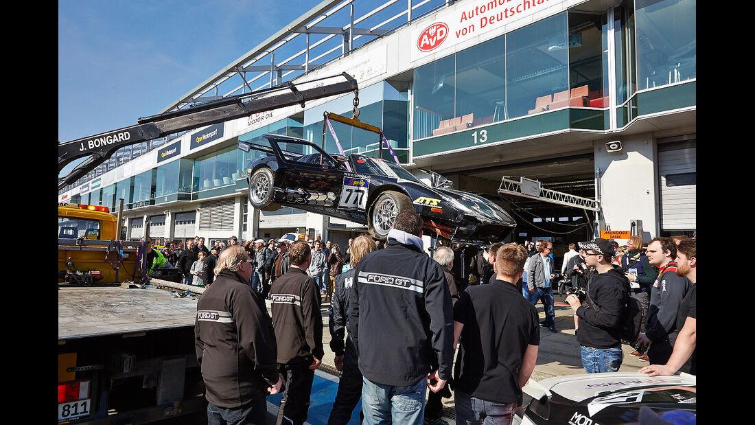 Ford GT 40 - VLN - Nürburgring Nordschleife - 29. März 2014
