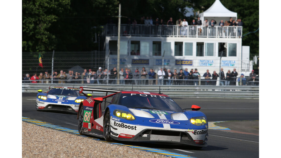 Ford GT - #68 - 24h Le Mans - Sonntag - 19.06.2016