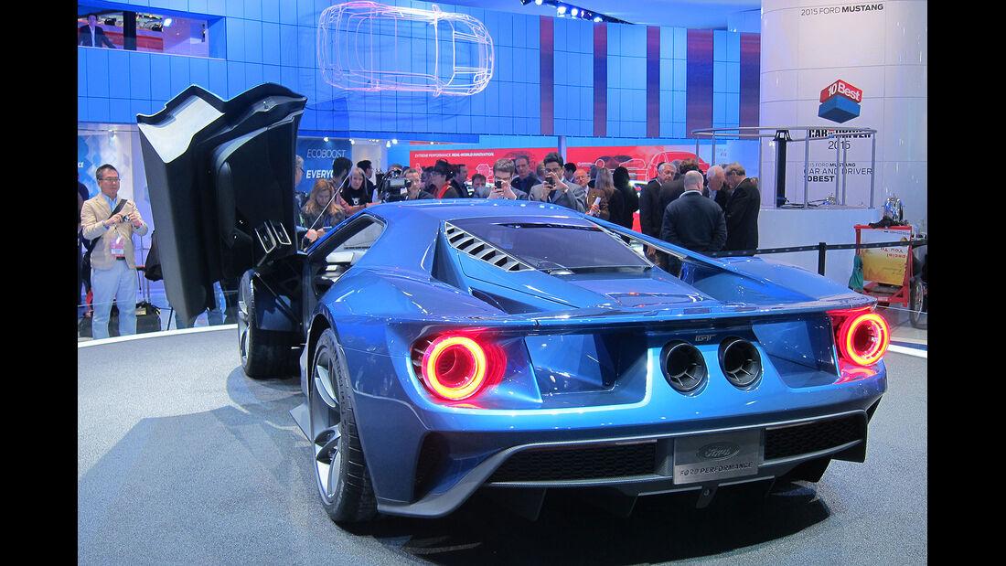 Ford GT Detroit 2015