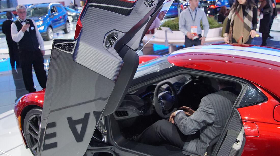 Ford GT Detroit 2017