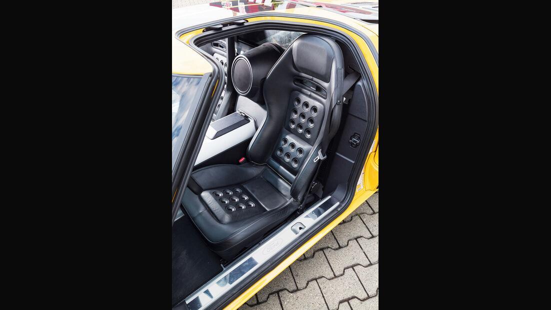 Ford GT, Fahrersitz