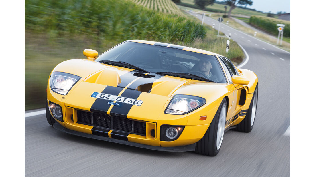 Ford GT, Frontansicht