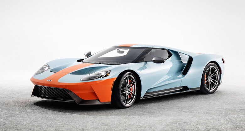 Ford GT Heritage-Edition Gulf Oil