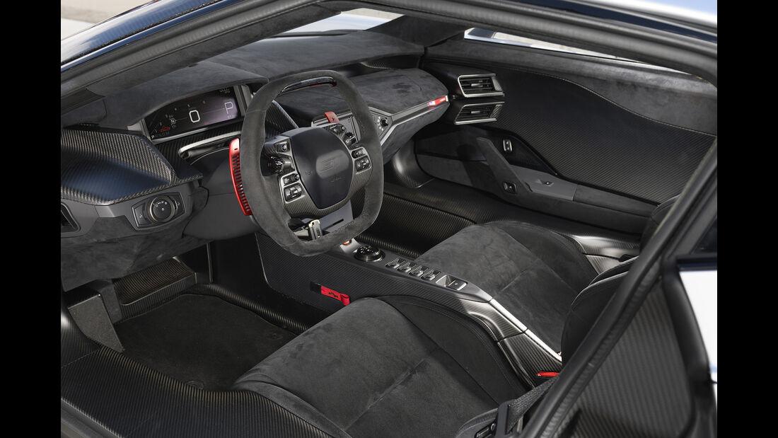 Ford GT, Interieur