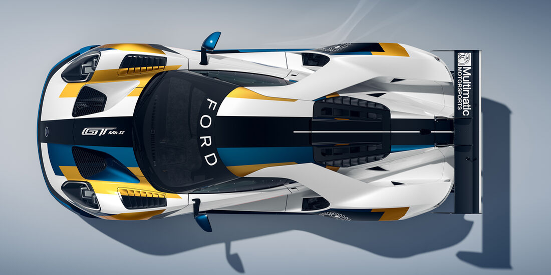 Ford GT Mk II - Rennversion - Goodwood Festival of Speed