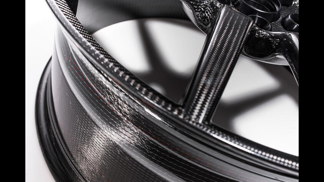 Ford GT: Optionale Karbonfelge