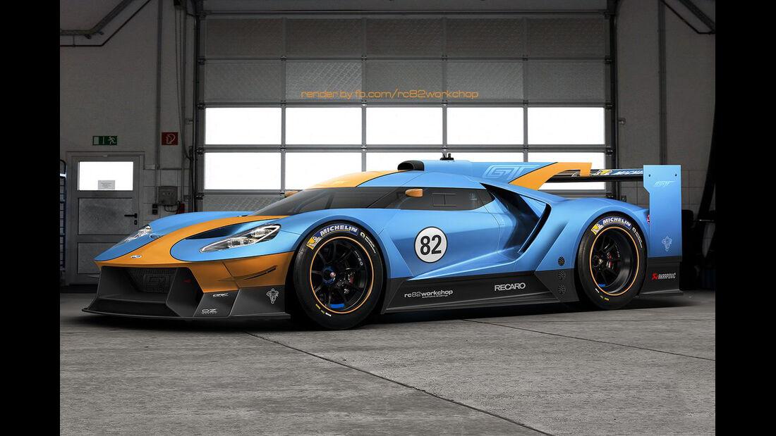 Ford GT - Rennversion - Photoshop