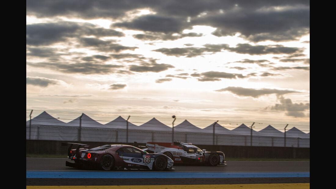 Ford GT - Startnummer #66 - 24h-Rennen Le Mans 2018 - Samstag - 16.6.2018