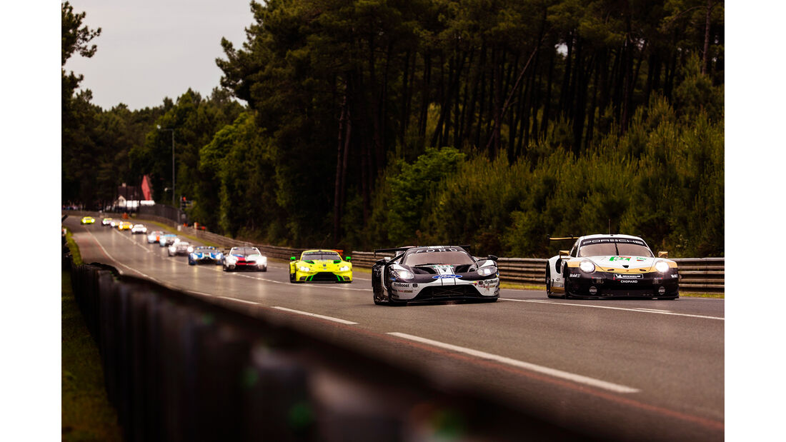Ford GT - Startnummer #66 - 24h-Rennen Le Mans - Samstag - 15.06.2019