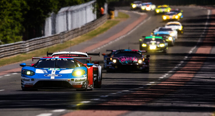 Ford GT - Startnummer #67 - 24h-Rennen Le Mans 2017 - Samstag - 17.6.2017