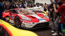 Ford GT - Startnummer #67 - 24h-Rennen Le Mans - Samstag - 15.06.2019