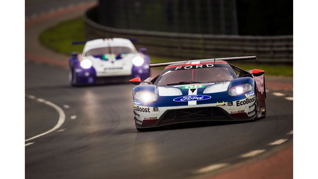 Ford GT - Startnummer #68 - 24h-Rennen Le Mans 2018 - Sonntag - 17.6.2018