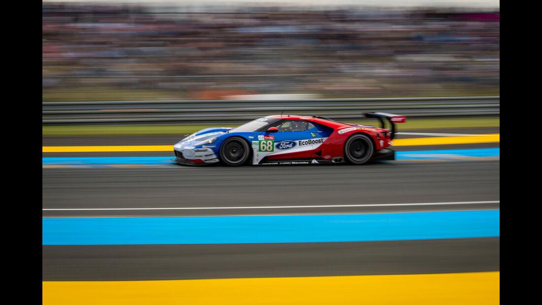 Ford GT - Startnummer #68 - 24h-Rennen Le Mans - Samstag - 15.06.2019