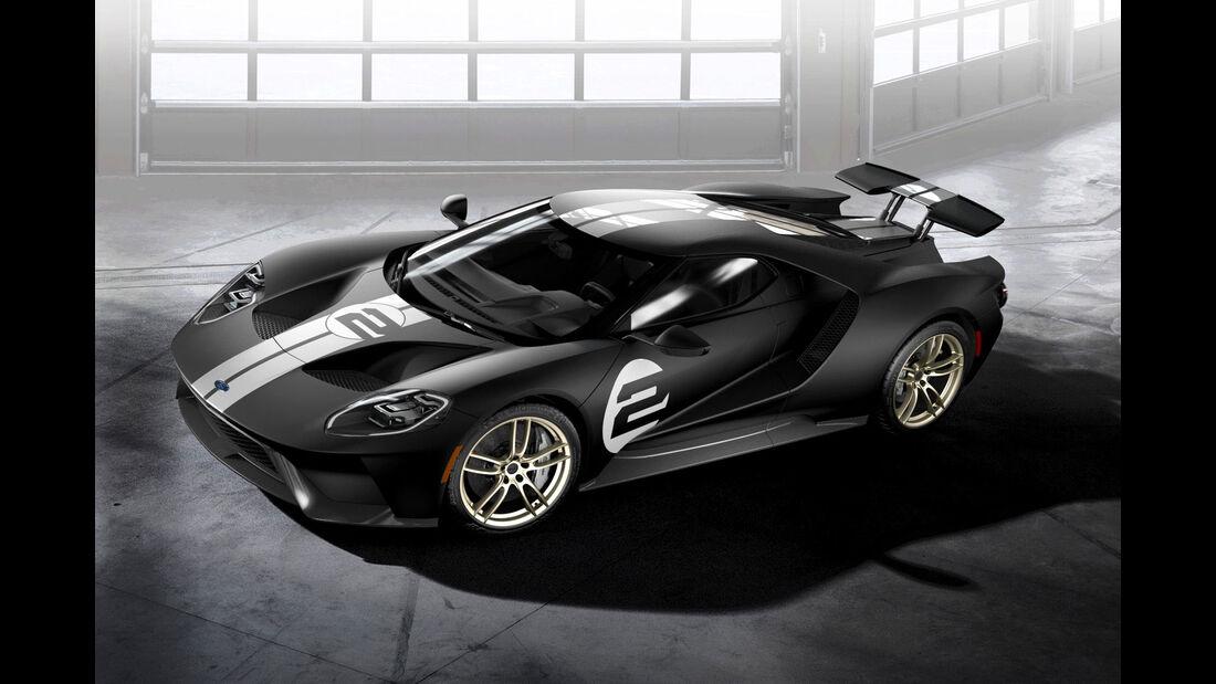 Ford GT - Supersportwagen - Aerodynamik - Heckflügel