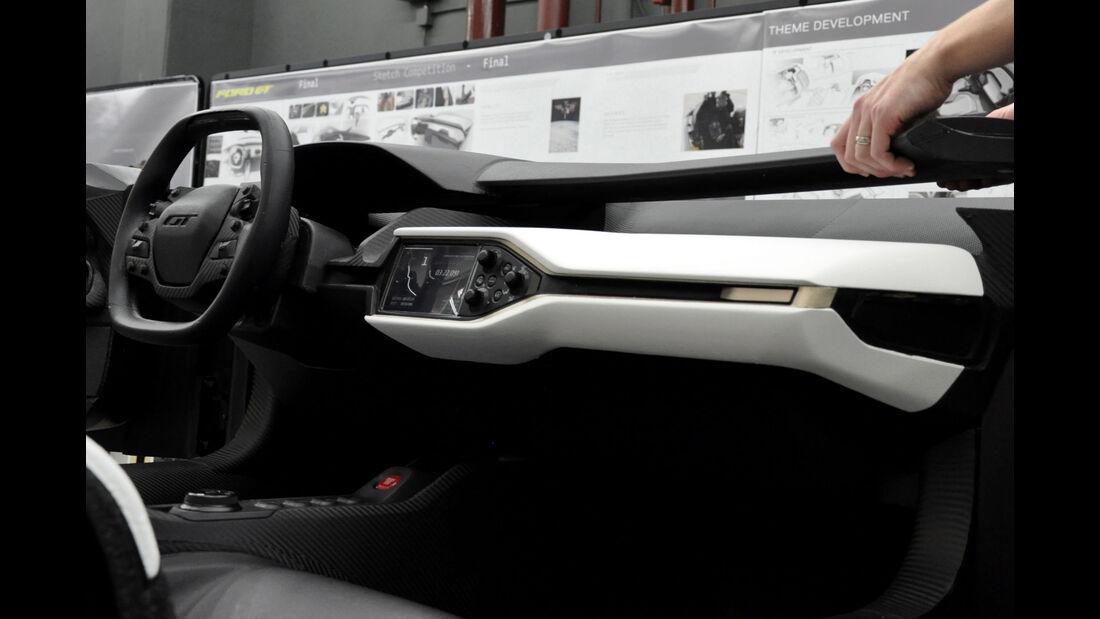 Ford GT - Supersportwagen - Entwicklung - Cockpit