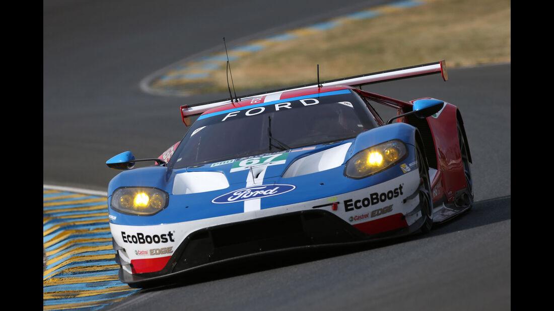Ford GT - Vortest - 24h-Rennen Le Mans 2017
