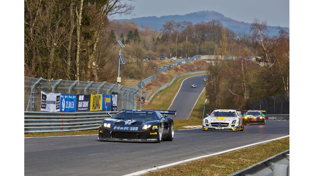 Ford GT40 - Jürgen Alzen - VLN 1 - Nürburgring Nordschleife - 29. März 2014