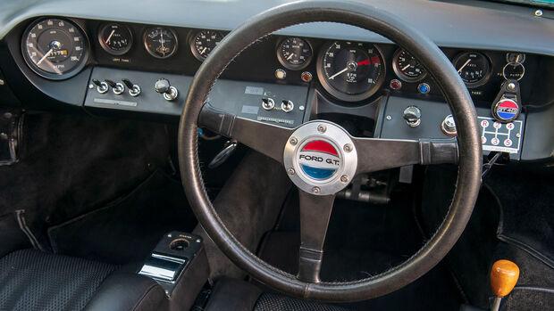 Ford GT40 Mk1 Warwick Green Verkauf Rechtslenker