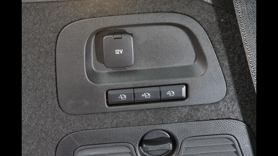 Ford Galaxy 1.5 Ecoboost, Bedienelemente
